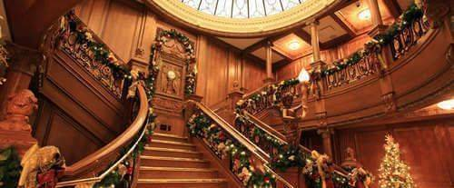 Branson Titanic - World's Largest Museum Attraction, staircase
