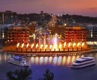 Branson Landing Cruises on Lake Queen, lake cruise