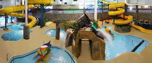Castle Rock Resort and Indoor Waterpark Waterpark