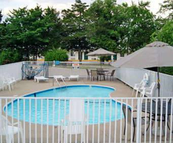 Outdoor Swimming Pool of Willow Tree Inn