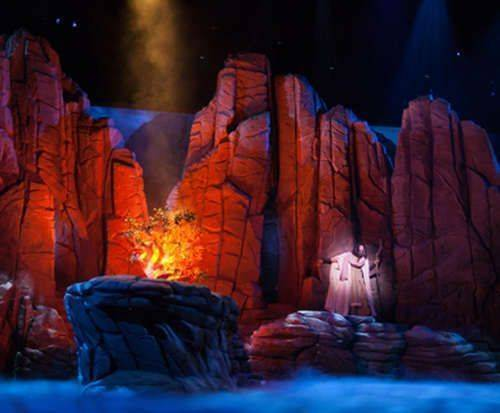 Moses at Sight and Sound Theatres® Branson, Christian theater