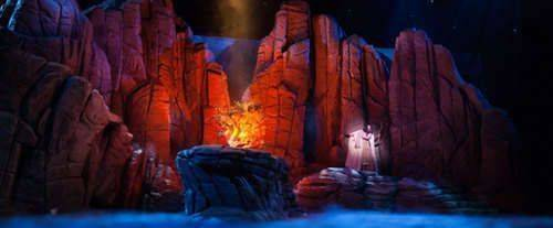 Moses at Sight and Sound Theatres® Branson, burning bush