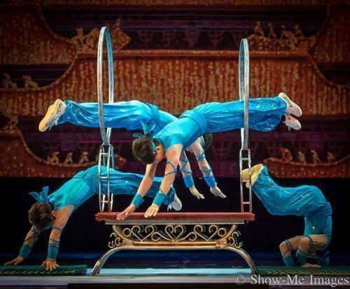 Acrobats of China featuring the New Shanghai Circus, hoop jumping