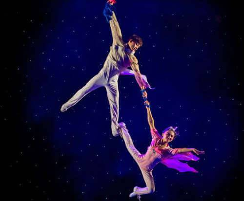 Acrobats of China featuring the New Shanghai Circus, aerial stunts