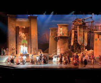 Joseph at Sight & Sound Theatres® Branson, set