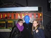 GiPad at the Blue Man Group
