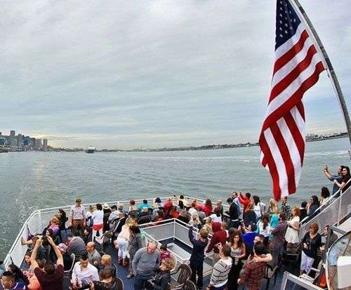 Boston Harbor Historic Sightseeing Cruise, boat