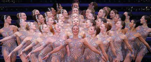 Radio City Rockettes Performers Grouped