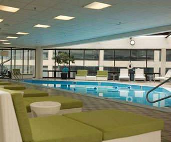 Outdoor Pool at DoubleTree by Hilton Nashville Downtown
