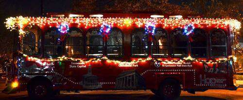 Holly Jolly Trolley Tour Nashville
