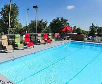 Outdoor Pool at Hampton Inn & Suites Nashville-Airport