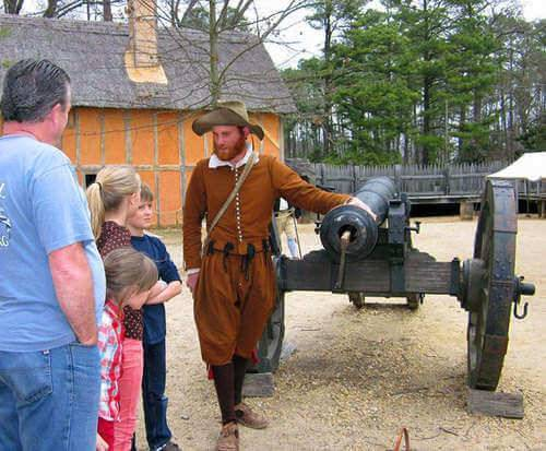 Jamestown Settlement, exhibit