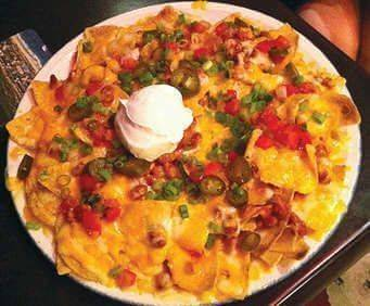 Hard Rock Cafe, Nacho Plate
