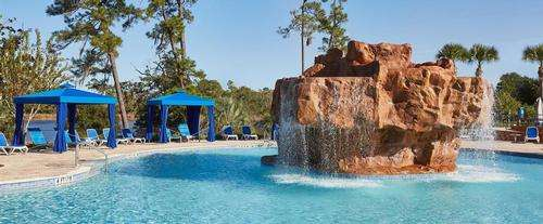 Outdoor Pool at Wyndham Lake Buena Vista Resort Hotel