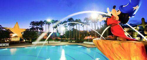 Outdoor Pool at Disney's All-Star Movies Resort