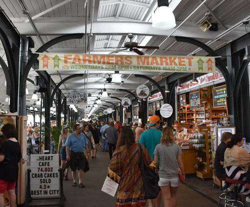 French Quarter Walking Tour, farmer's market