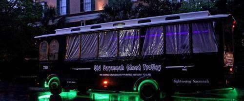 Old Savannah Ghost Trolley