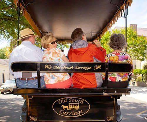 Charleston Carriage Tour of Antebellum Mansions, Churches & Gardens, seating