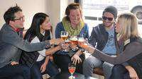 Enjoy craft beer with your new drinking buddies!