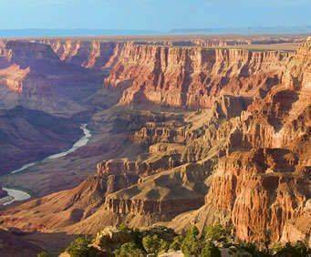 North Canyon Helicopter Tour, canyon aerial