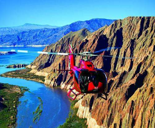 Over The Edge - Helicopter Tour and Pontoon Cruise, Helicopter ride