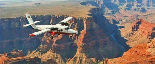 Grand Canyon Airplane Flight & 4x4 Combo - Airplane