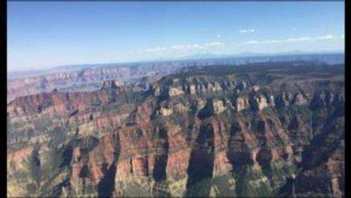Scenic Aerial Tour of Grand Canyon National Park
