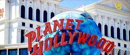 Planet Hollywood Outside Venue