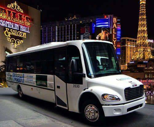 Vegas Night Club Tour, bus