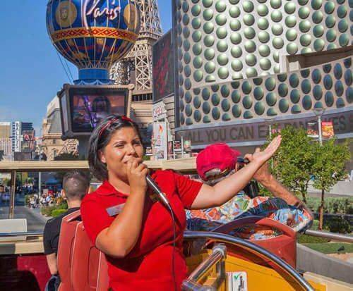 Big Bus Las Vegas Hop On Hop Off Tours, tour guide