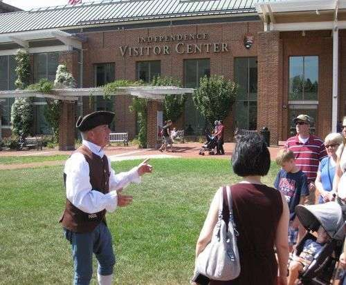 Franklin's Footsteps Walking Tour, history tour