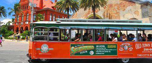 Sightseeing trolley