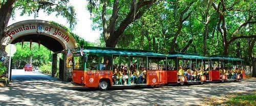 St. Augustine Combo - Narrated Trolley Tour