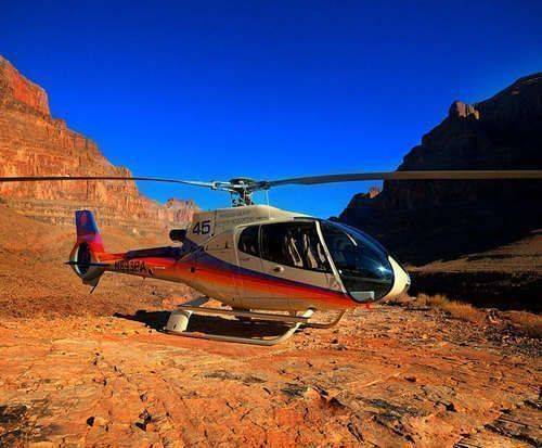 Grand Canyon and Navajo Reservation Full Day Tour, helicopter