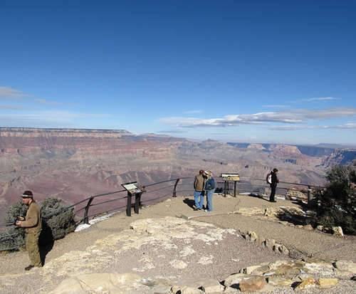 Grand Canyon and Navajo Reservation Full Day Tour, Grand Canyon Rim
