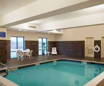Comfort Suites Cicero Indoor Swimming Pool