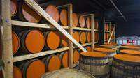 Copper and Kings Whisky Maturation Room!