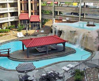 Outdoor Swimming Pool of Chattanooga Choo Choo