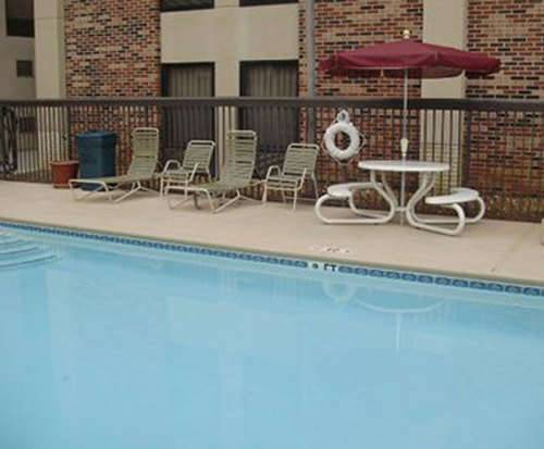 Outdoor Pool at Hampton Inn Chattanooga Downtown/Lookout Mountain
