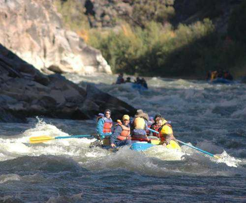 Westwater Canyon white rafting