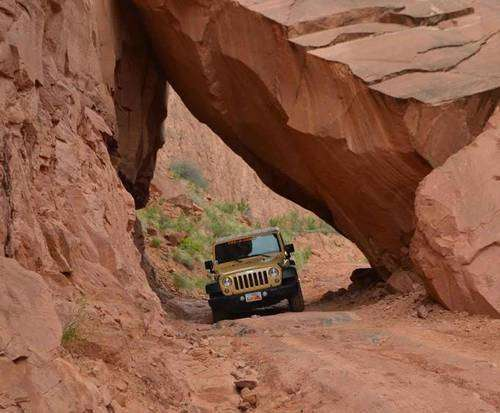 Jeep expedition Canyonlands National Park