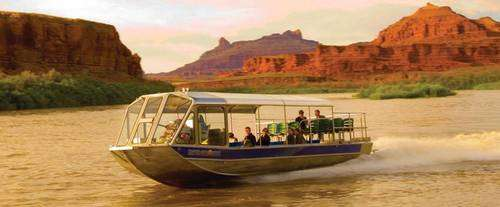 Canyonlands Sunset Jetboat Cruise with Dinner