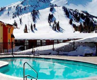 Outdoor Pool at Mammoth Mountain Inn