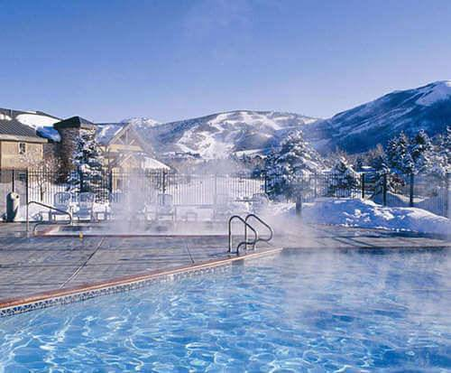 Outdoor Pool at Park City Peaks