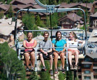 Deer Valley Resort Scenic Chairlift Rides - Chairlift