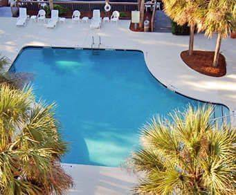 Outdoor Pool at Comfort Inn - South Forest Beach