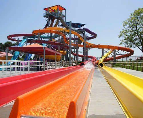 Oceans of Fun Waterpark Kansas City, water slide