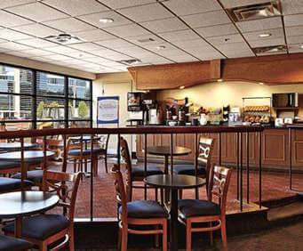 Comfort Inn Downtown Cleveland Dining