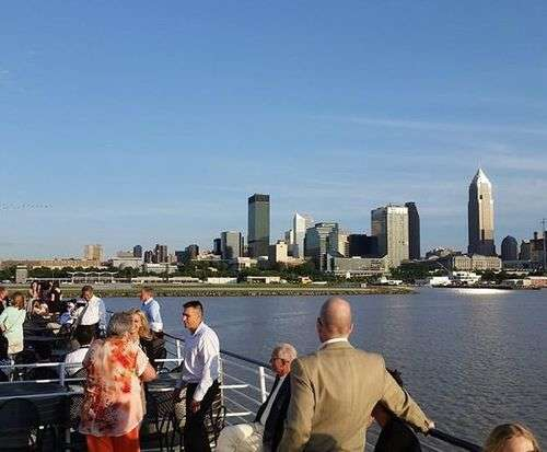 Nautica Queen Lunch & Dinner Cruises, Cleveland sightseeing