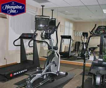 Fitness Center at Hampton Inn Cleveland Airport-Tiedeman Rd